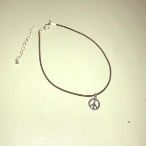 Other - Justice Peace sign chocker